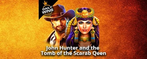 Slot ออนไลน์ John Hunter and the Tomb of the Scarab Queen