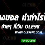 แทงบอล UEROPA LEAGE ได้ที่เว็บ OLE98