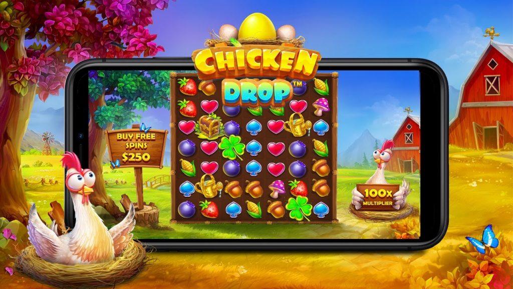 OLE98 รีวิว Chicken Drop จากค่ายดัง pragmatic play