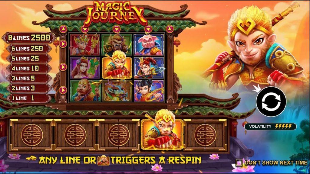 OLE98 รีวิวเกมสล็อตออนไลน์ Magic Journey